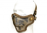 Valken Tactical 2G Wire Mesh Tactical Mask (Tan Skull)
