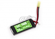 Valken Energy 7.4v 1600mAh 2s 20C LiPO Mini Battery