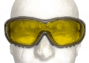 Valken V-TAC Axis Airsoft Goggles (Yellow)