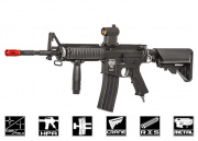 Valken Ultra M4 Carbine SOPMOD With Valken V12 Engine Airsoft Gun (Black)
