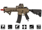 Valken V12 Optima Block I M4 Carbine HPA Airsoft Gun (Tan/Black)