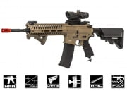 Valken V12 Optima Block II M4 Carbine HPA Airsoft Gun (Tan/Black)