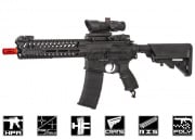 Valken V12 Optima Block I M4 Carbine HPA Airsoft Gun (Black)