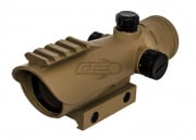 Valken V-Tac Tactical Red Dot Sight (Tan)