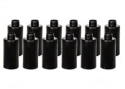 Valken Tactical Cylinder B Thunder V Grenade Shells - 12 Pack (Black)