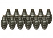 Valken Tactical Pineapple Thunder V Grenade Shells - 12 Pack (OD Green)