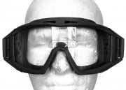 V-TAC Tango Airsoft Goggles w/ 3 Color Lenses (Black)
