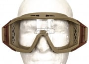 Valken V-TAC Tango Airsoft Goggles w/ 3 Color Lenses (Tan)