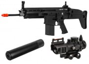 VFC FN Herstal SCAR-H MK17 STD AEG Airsoft Gun (BLK) Kit Up Package