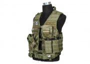 VISM ZOMBIE REZURRECTION TACTICAL VEST KIT GREEN