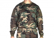 V-TAC Echo Combat Shirt (Medium/Woodland)