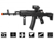 Well AK12 Entry Level AEG Airsoft Gun (Black)