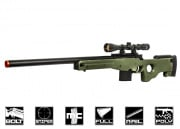 Well L96 Compact Bolt Action Sniper Rifle Airsoft Gun (OD)