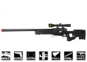 Well MK96 MB01B Bolt Action Gas Powered Sniper Rifle Airsoft Gun (Black)