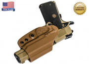 "G-Code OSH RTI for 1911 3.5"" (Right Hand/HOLSTER ONLY) Tan"