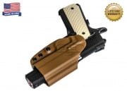 "G-Code OSH for 1911 Railed 3.5"" (Right Hand/HOLSTER ONLY) Tan"