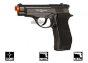 WG Full Metal M84 Non Blowback CO2 Pistol Airsoft Gun (Black)