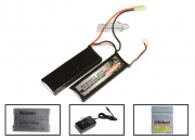 Tenergy 9.6V 1200mah LiFePO4 Mini Battery Package ( Battery , Charger , & Liposack )