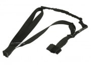 Lancer Tactical Three Point Bungee Sling (Black)