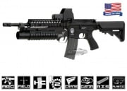 Airsoft GI G4-18 Carbine w/ Daniel Defense SOPMOD RIS Blowback Version AEG Airsoft Gun (Custom/No Iron Sights)