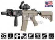 Airsoft GI G4-A2 Desert Knight Hog Blowback Version AEG Airsoft Gun ( Tan / Custom )