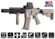 Airsoft GI Desert G4-A2 Silent Death Blowback Version AEG Airsoft Gun (Tan/Custom)