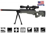 Airsoft GI Full Metal Fully Upgraded G98 Advanced Bolt Action Sniper Rifle Airsoft Gun (OD)