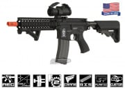 Airsoft GI Defender Version 2 M4 Carbine AEG Airsoft Gun (Black)