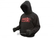 Airsoft GI Hooded Sweatshirt ( Black / XXL )