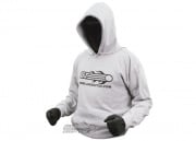 Airsoft GI Hooded Sweatshirt (Light Gray/L)