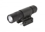 AIM Sports 90 Lumens Flashlight w/ Mount & Pressure Switch