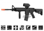 A&K M4 RIS AEG Airsoft Gun with Rail Covers