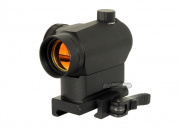 AMP Compact Combat Red Dot Sight (QD Riser Mount)
