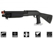 Bravo 3 Burst Full Stock Shotgun Spring Airsoft Gun