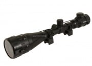 Bravo 4-16x50 Scope (Red & Green Illuminated w/ Scope Rings)
