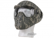 (Discontinued)Bravo/APS Anti-Fog Full Face Mask (ACU)