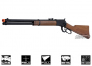BRAVO Full Metal/Fake Wood 1892 Lever Action Gas Rifle Airsoft Gun