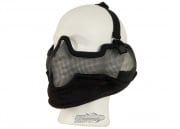 Bravo V2 Strike Metal Mesh Lower Face Mask ( Black )