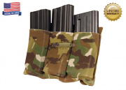 Blue Force Gear Ten-Speed Triple M4 Pouch with Helium Whisper Attachment System (Multicam)