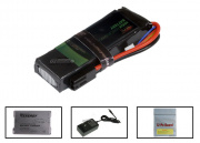 BOL 11.1v 1400mAh 15C LiPo Mini Battery Package (Battery, Charger & Liposack)