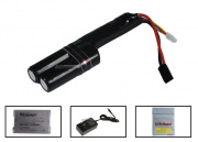 BOL 11.1v 1800mAh 15C LiPo L-Shape Battery Package (Battery, Charger & Liposack)