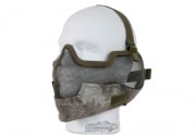 Bravo V2 Strike Metal Mesh Lower Face Mask (A-TACS)