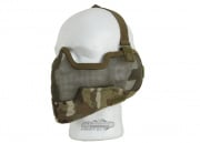 Bravo V2 Strike Metal Mesh Lower Face Mask ( Multicam )