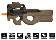 CA CA90 AEG Airsoft Gun (Dark Earth/Sportline/Value Package)