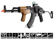 Full Metal/Real Wood Blow Back Kalashnikov AK-47 AIMS AEG Airsoft Gun Licensed by Cybergun