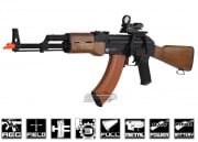 Full Metal/Fake Wood Kalashnikov AKM AEG Airsoft Gun Licensed by Cybergun