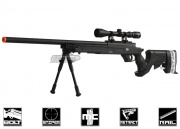 * Discontinued * Cybergun Full Metal Mauser Bolt Action Sniper Rifle Airsoft Gun (Black)