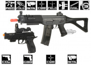 * Discontinued * ICS SIG 552 & P226 X5 Airsoft Gun Package
