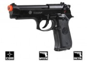 Taurus PT 92 w/ Metal Slide Spring Pistol Airsoft Gun Licensed by Cybergun