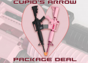 Airsoft GI Cupid's Arrow Package Deal ( Javelin M4 Warrior , G&G Femme Fatale & GI 0.20g BBs )
